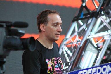 MINSK, BELARUS - JULY 6: Paul van Dyk at the Global Gathering Festival on July 6, 2013 in Minsk