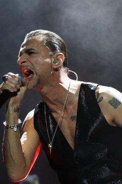 Depeche Mode in concert at the Minsk Arena on Friday, February 28, 2014 in Minsk, Belarus