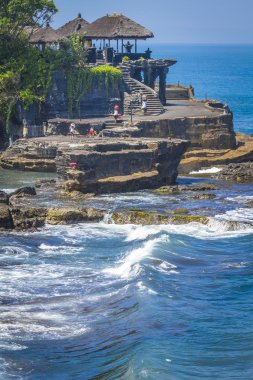 Tanah Lot Temple on Sea