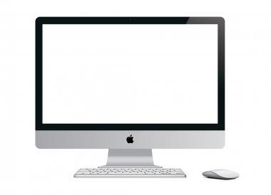 IMac Computer on White