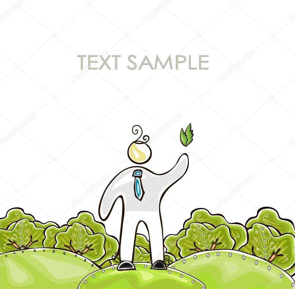 Organic farm background