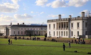 Greenwich park, Royal Navy college, Queen s palace