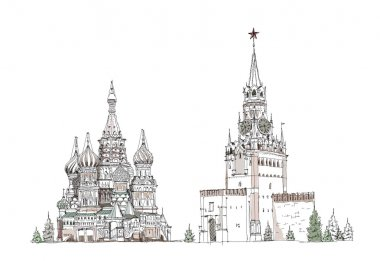 Moscow, Red square Sketch collection