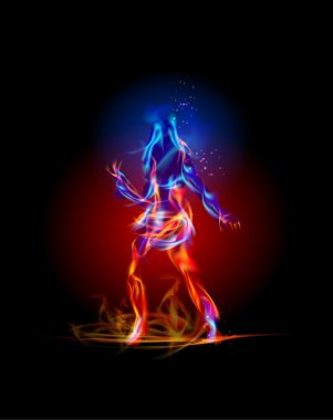 Fire dancing girl, Fire collection