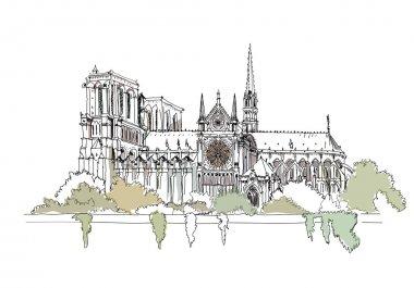 Paris,  sketch collection, Notre dame,