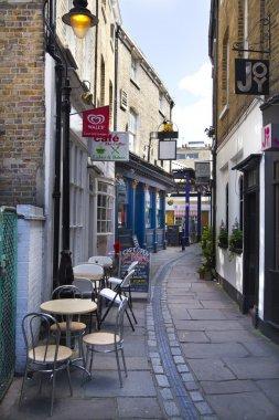 LONDON, UK - JUNE 17, 2014: Old street of Greenwich
