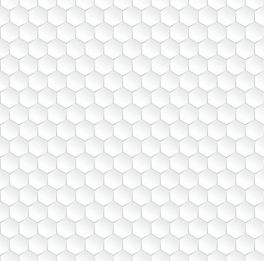 Hexagonal vector background