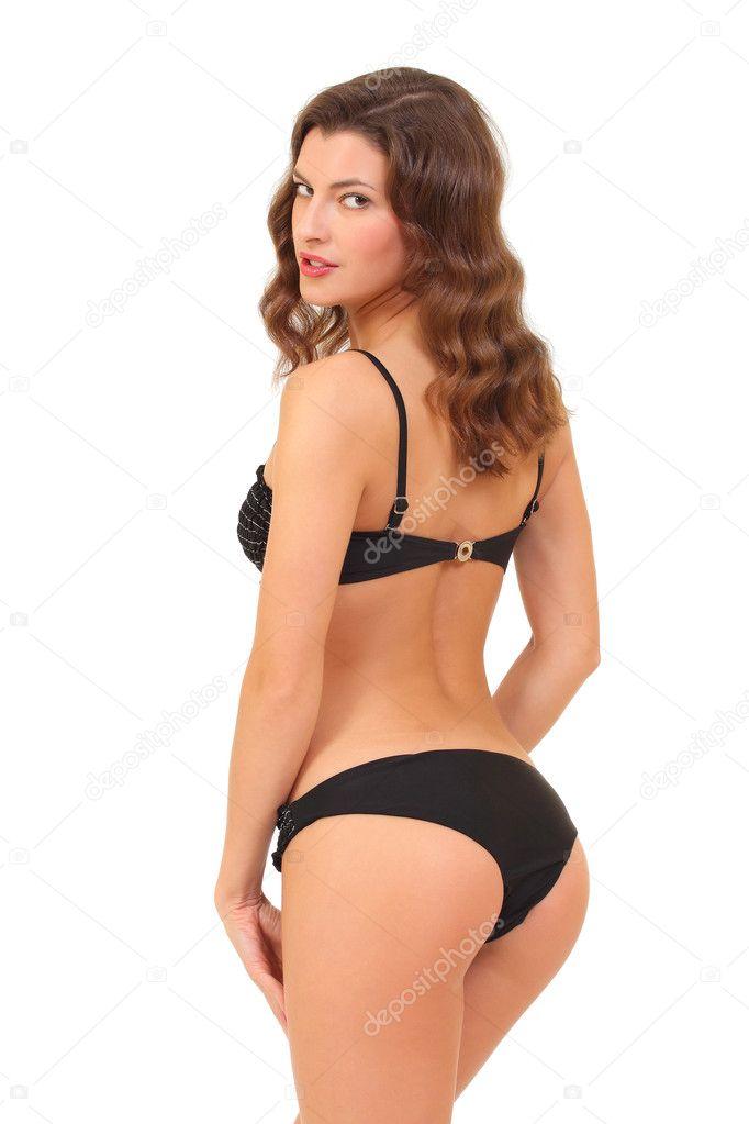Mince Cul Femme En Bikini Avec Un Belle Beau Jeune 18qw1R