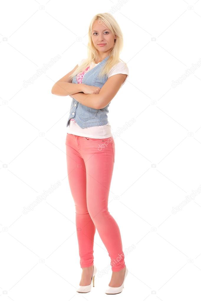 Девушки в полный рост блондинки фото 759-657