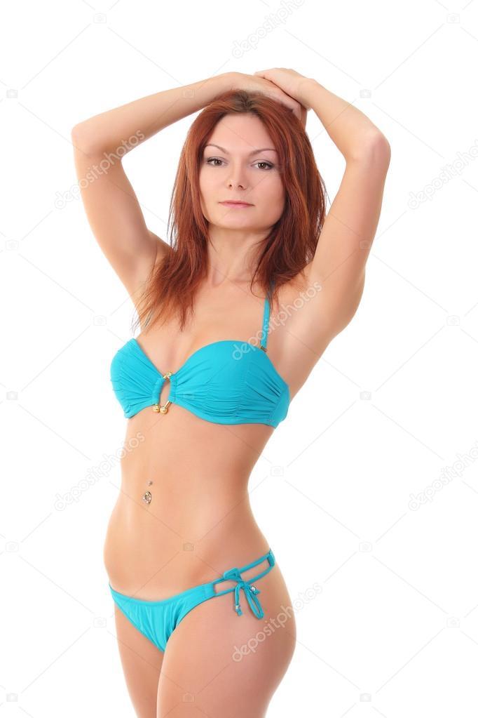 Женщина в купальнике