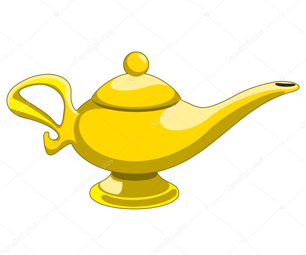Lampe D Aladin Image Vectorielle Gorbovoi81 36925161
