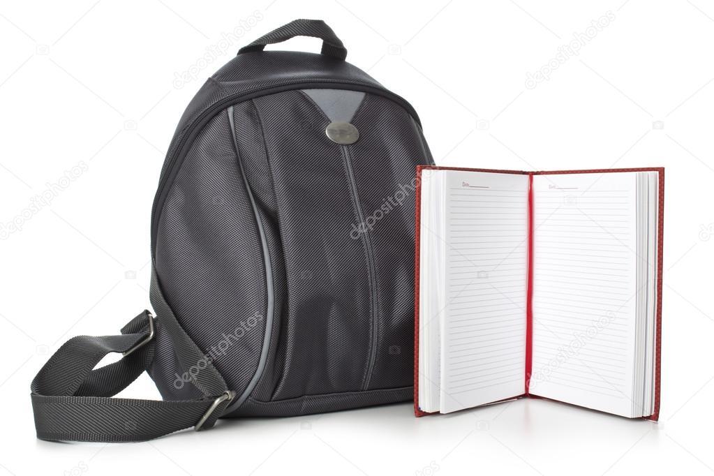 b4b9026b24d9 Рюкзак и книги — Стоковое фото © slavicavr1 #43751291
