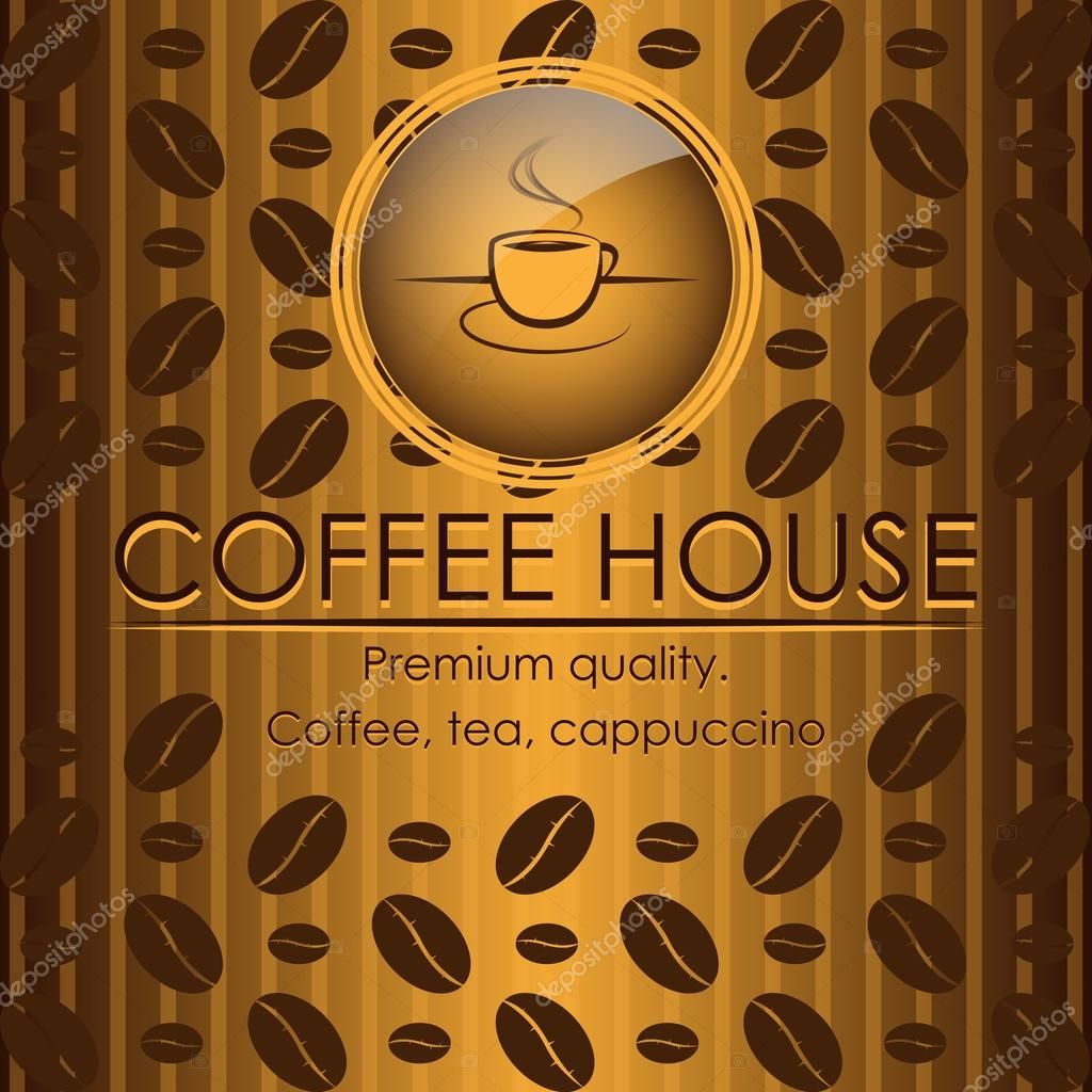 Сoffee house menu design