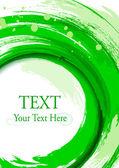 Grün vertikal Background für corporate Look. abstrakt Design-el