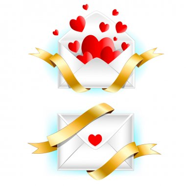Valentine's day greeting letter.