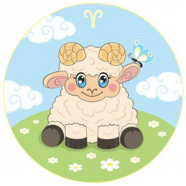 Childrens Aries zodiac sign