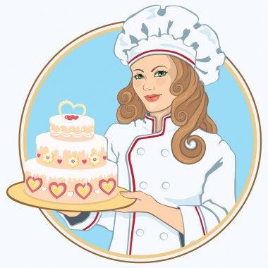 Confectioner girl