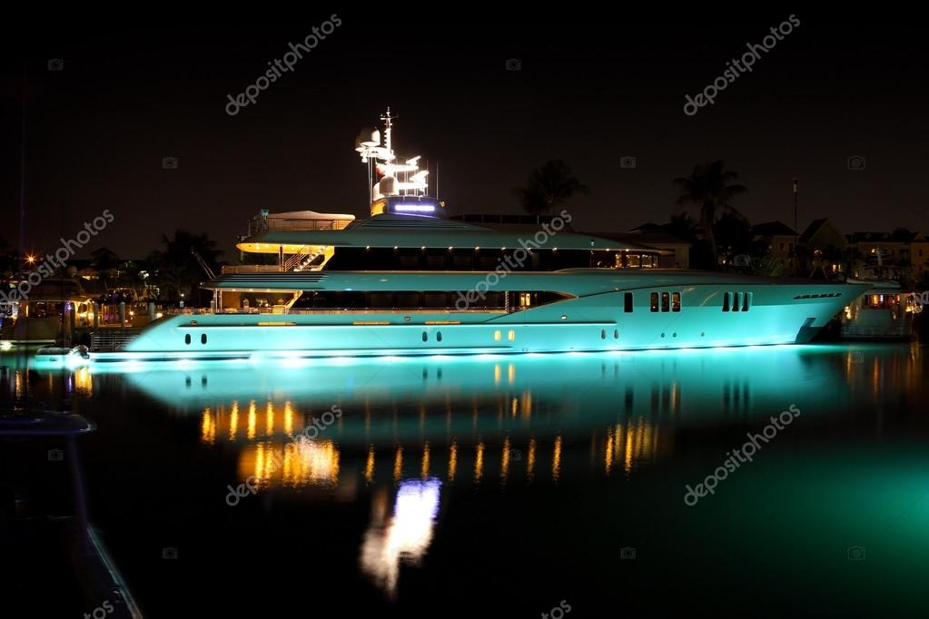 Modern private yacht