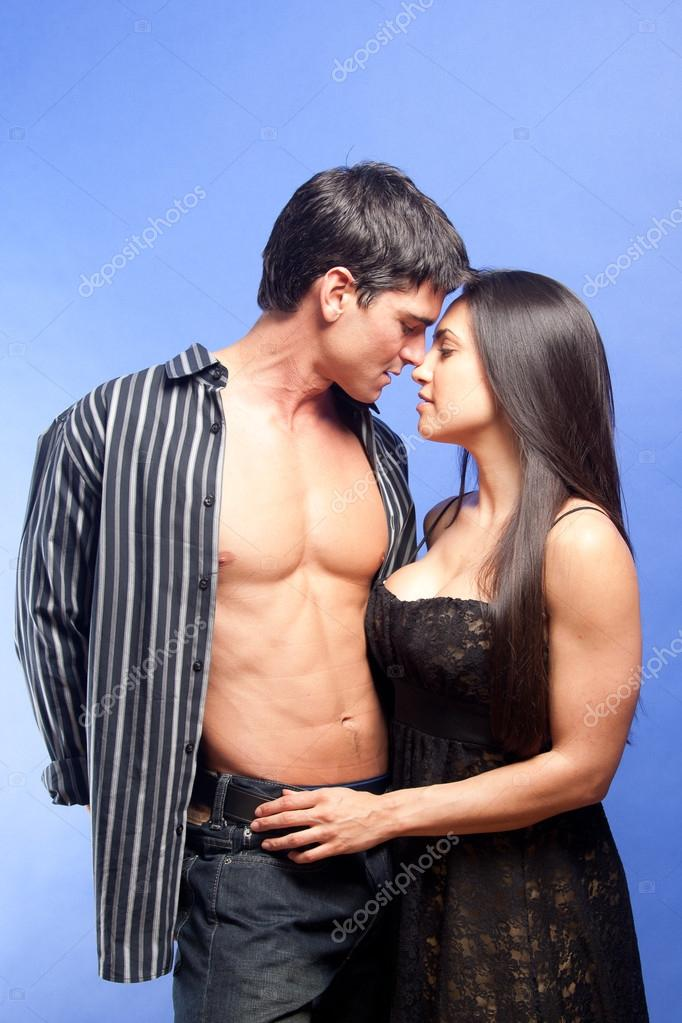 Hot couple in love