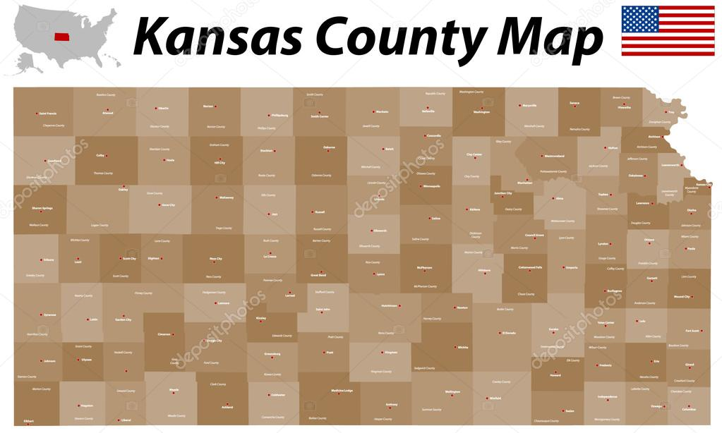 Kansas County Map — Stock Vector © Malachy666 #46066319 on nebraska map with counties and cities, kansas counties, kansas map with highways, nevada map with cities, kansas county maps with roads, map of france with cities, kansas map with all cities, map of united states with cities, map of pennsylvania with cities, kansas state, montana county maps with cities, map of canada with cities, kansas county maps with towns, map of china with cities, kansas congressional districts map, india map with cities, kansas map cities towns,
