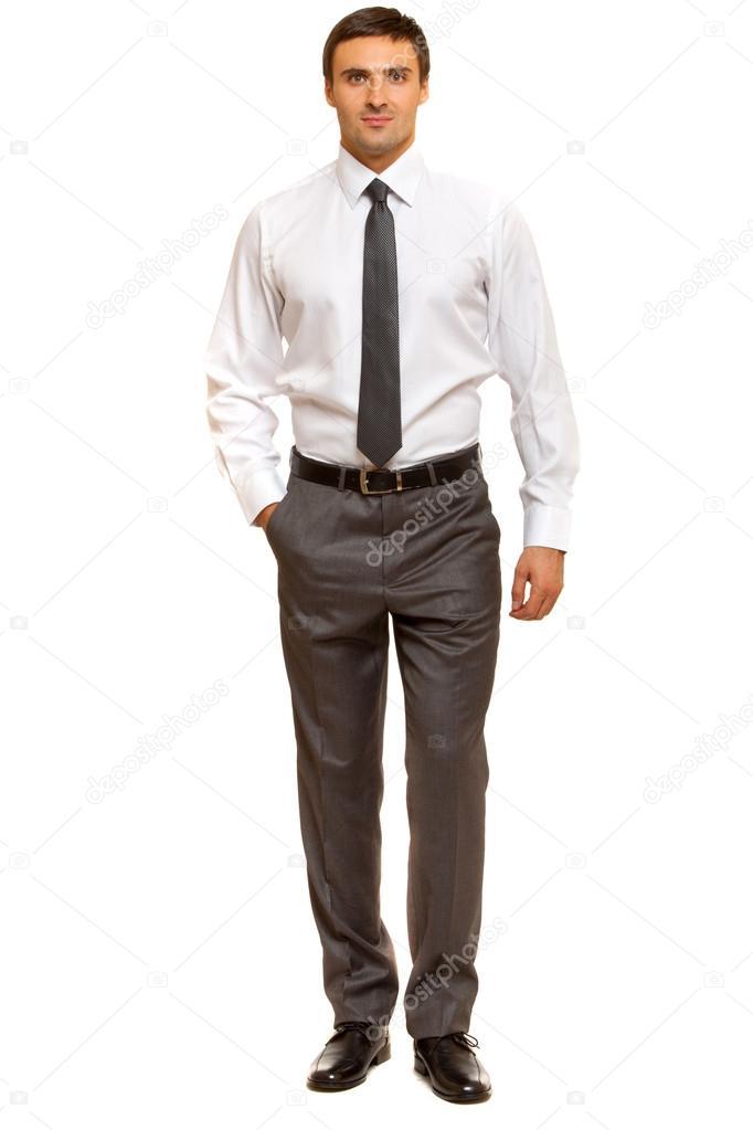 Imágenes Un Hombre Bien Vestido Hombre Bien Vestido Con