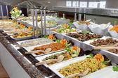 Food buffet in restaurant