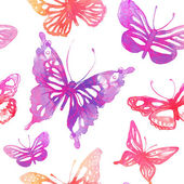 Photo Background with butterflies and flowers