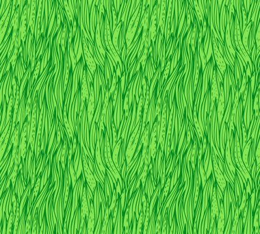 Seamless grass pattern