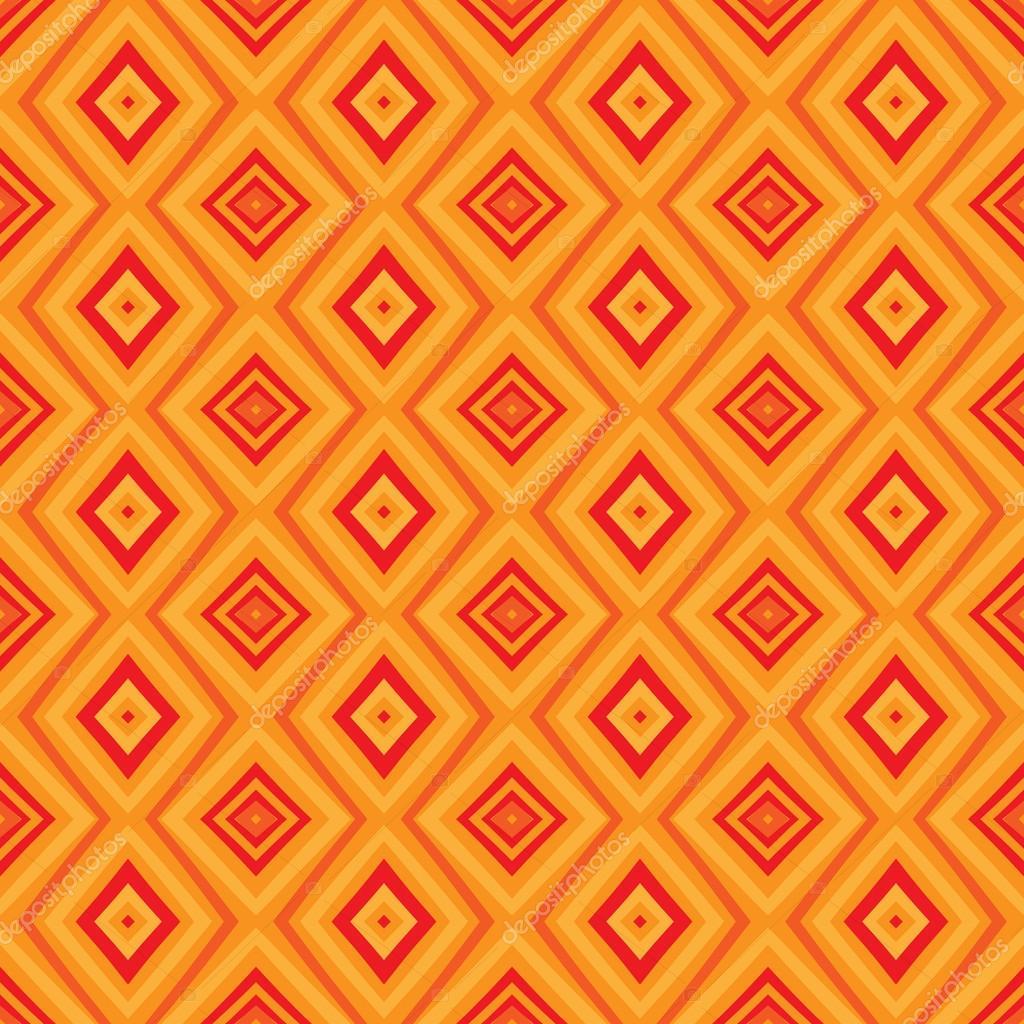 Ethnische Zick Zack Muster In Retro Farben Stockvektor Vgorbash