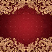 Fotografie Vintage background ornate baroque pattern