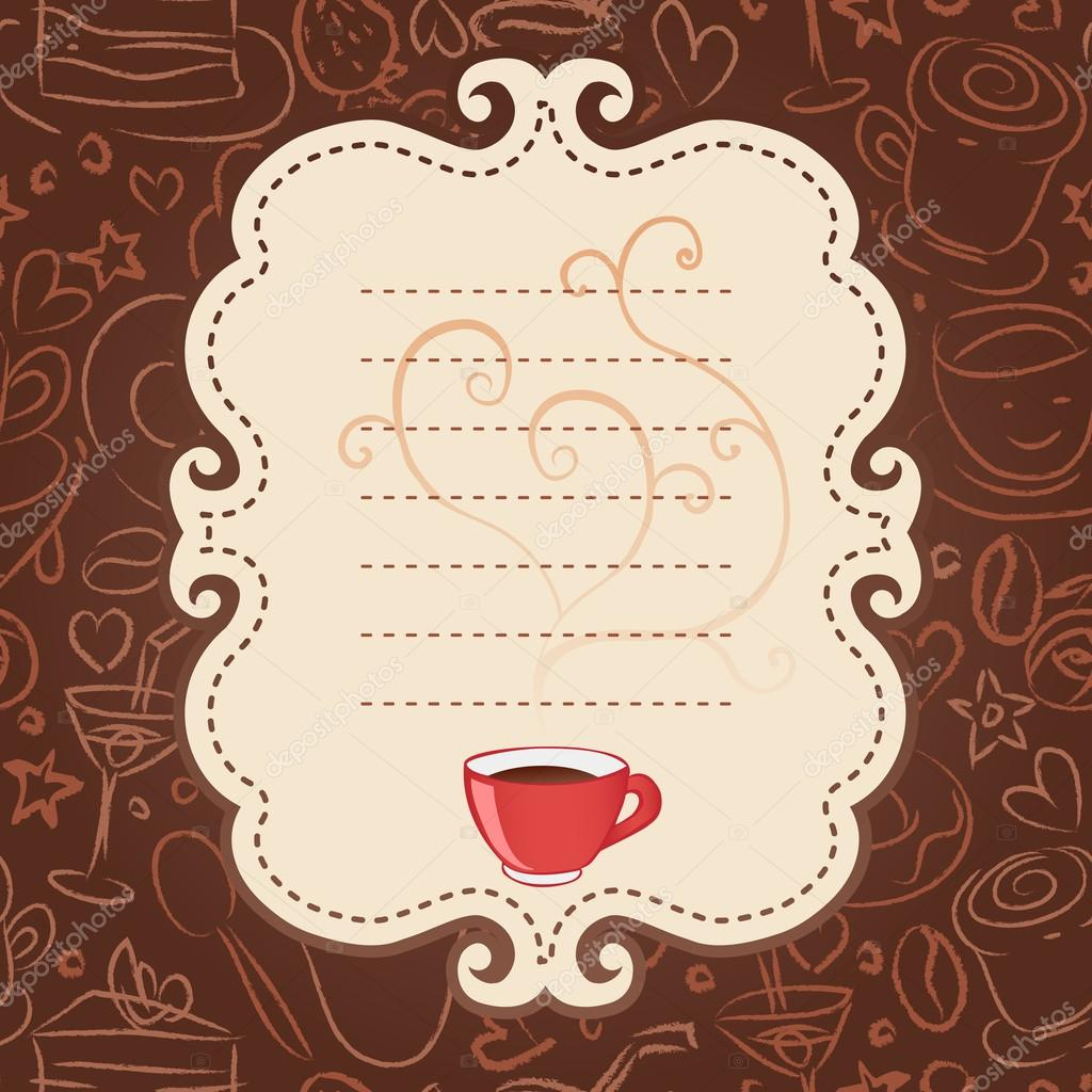 Картинки для приглашения в кафе