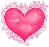 Fotografie Watercolor heart