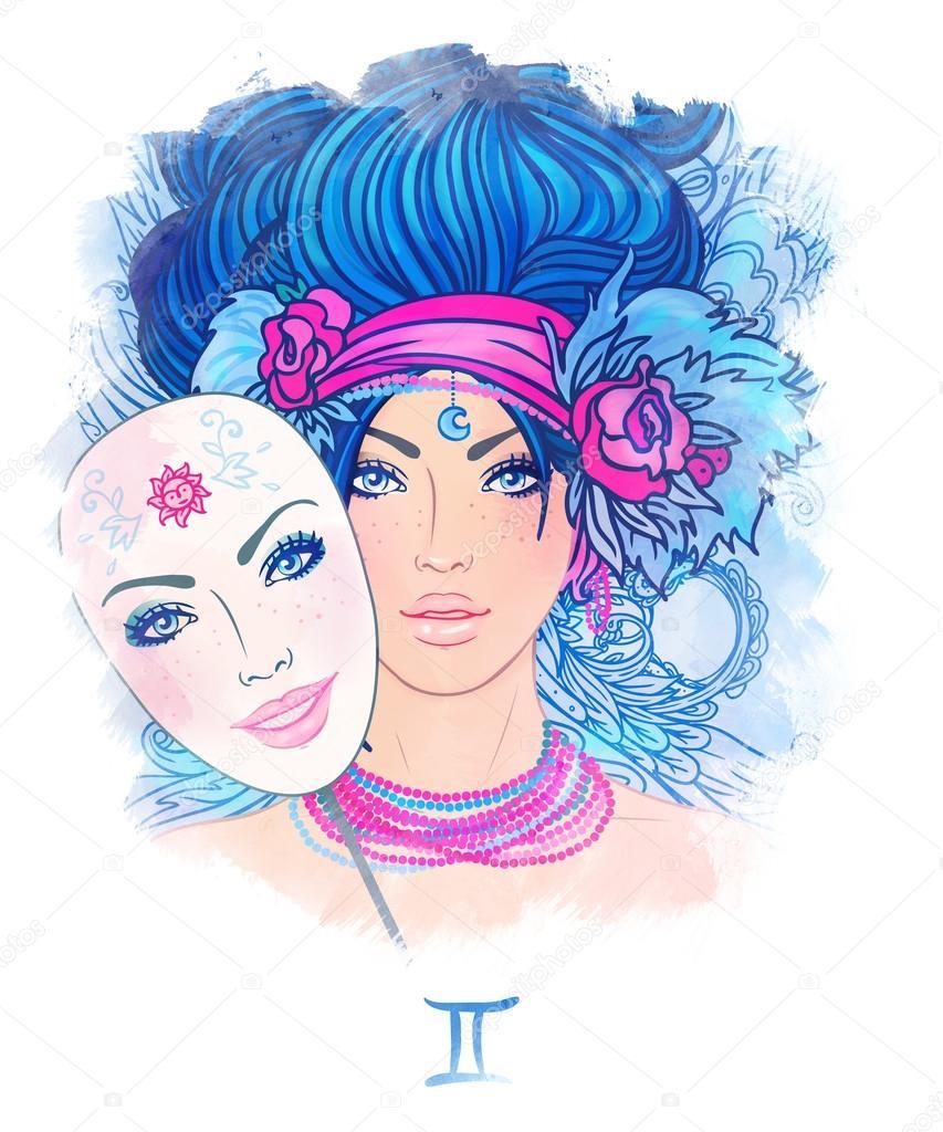 Близнец знак зодиака девушка