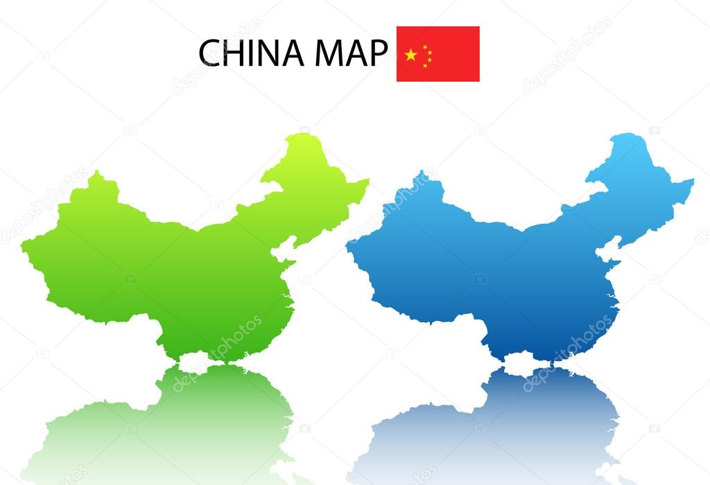 Chinese map — Stockvr © jelkicav #37795129 on