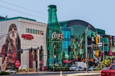 Replica Coca Cola bottle in Las Vegas