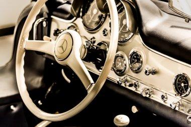 Old Mercedes dashboard