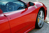 detail boku sportovní automobil ferrari