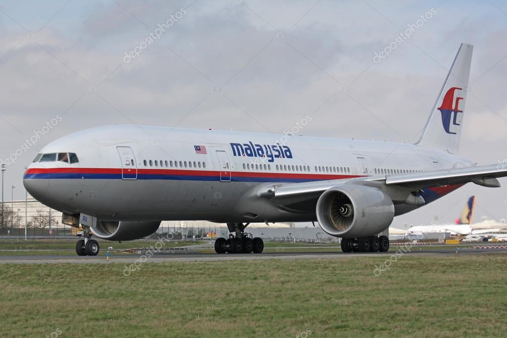 マレーシア航空の b777 - ストッ...