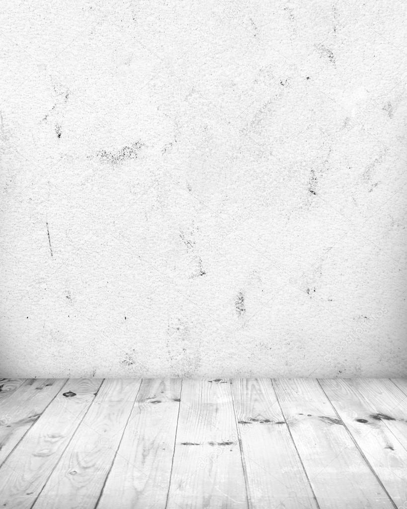 wei er raum mit wei en holzfu boden stockfoto horenko 46434271. Black Bedroom Furniture Sets. Home Design Ideas