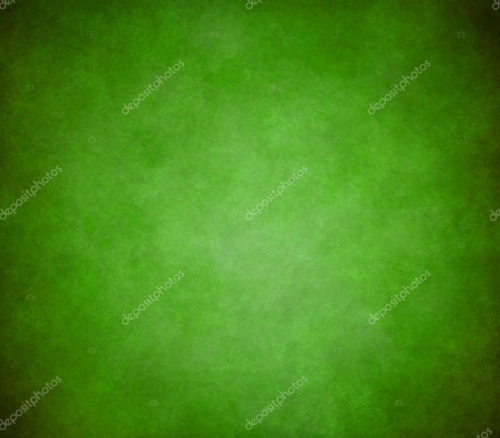 Bright green background with old black and light shading border