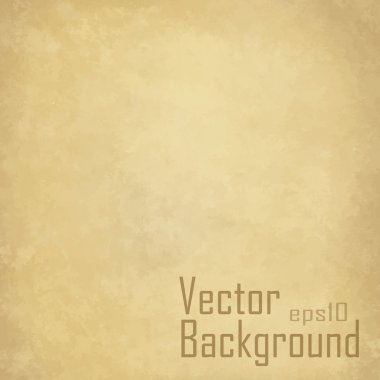 Grunge vintage old paper background. Vector.