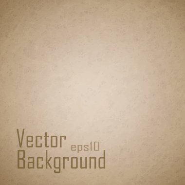 Vector grunge paper texture, distressed background