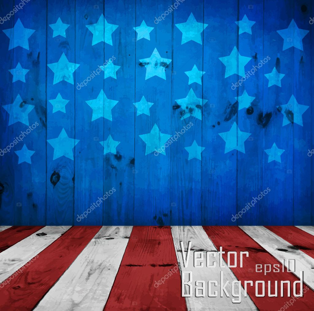 Vector - USA style background