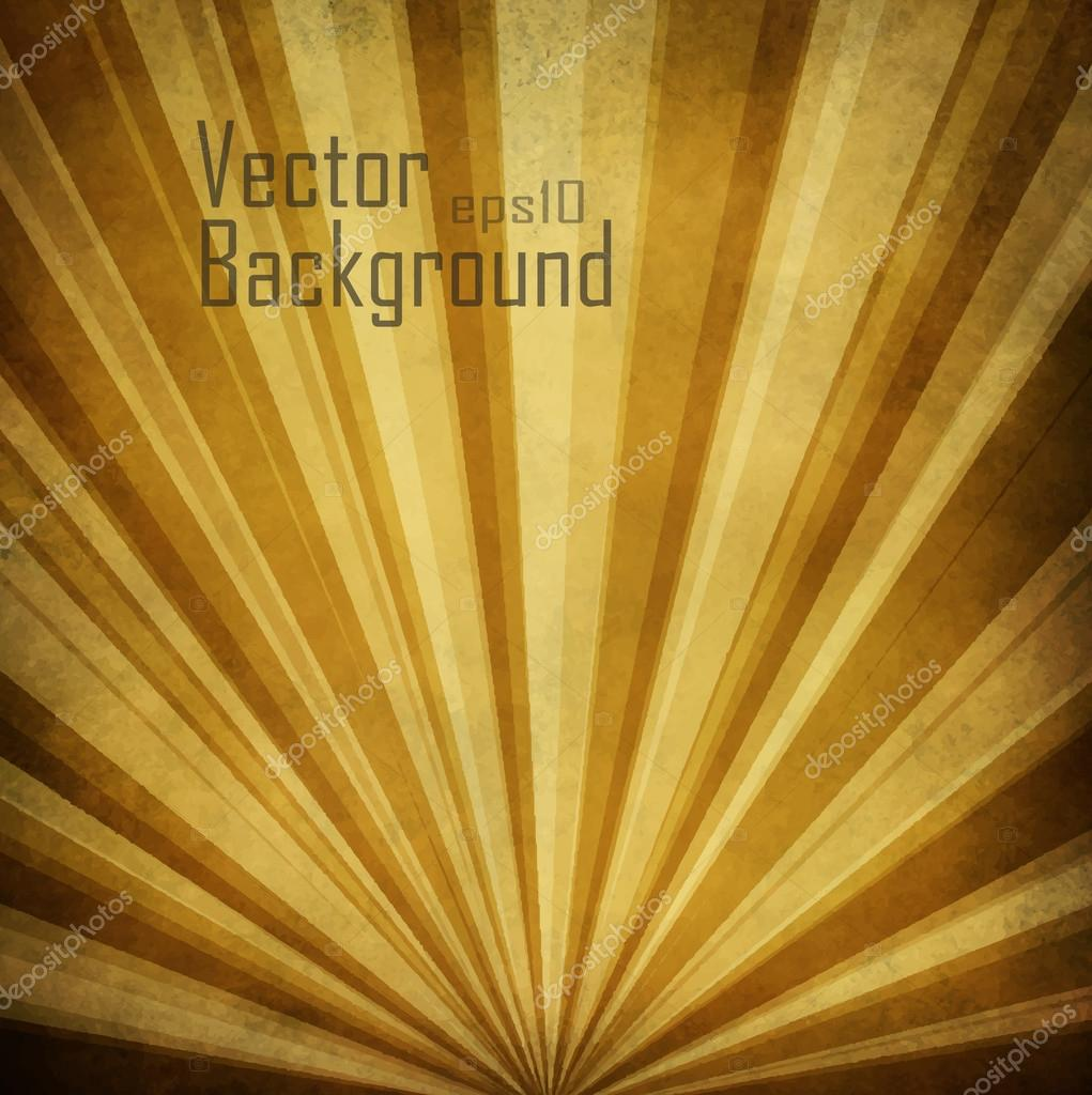 Vector Sunbeams Background.