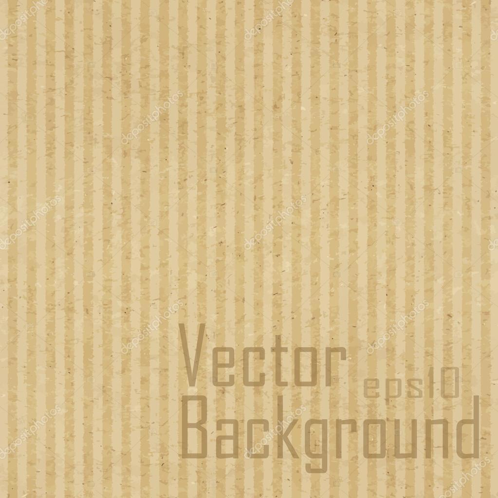 Cardboard texture. Vector texture.