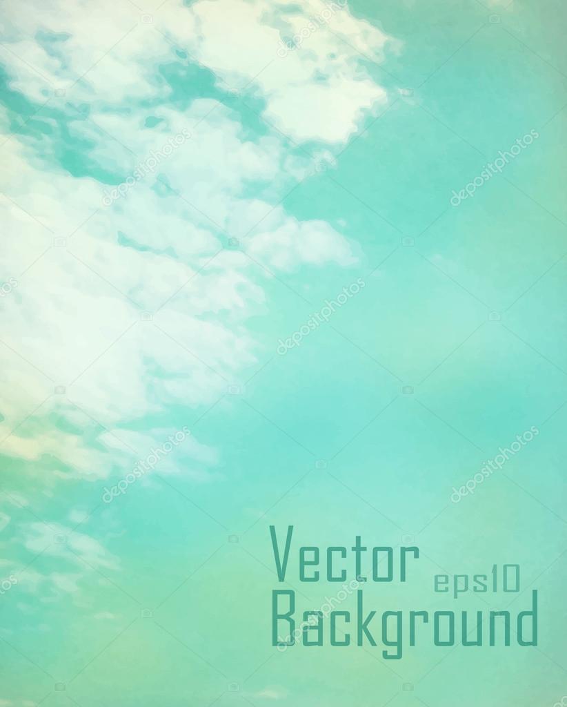 Vector Vintage Sky
