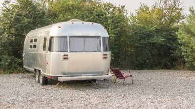 Classic American caravan