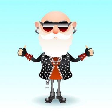 Rock old man