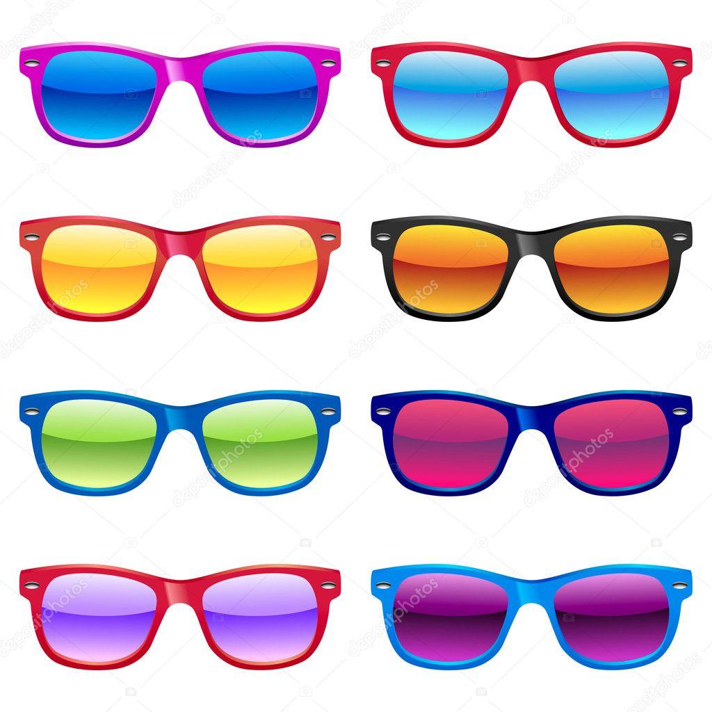 Sun glasses set