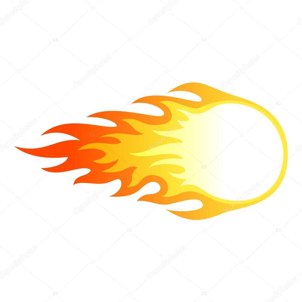 Ateş Topu Stok Vektör Gamegfx 44972829